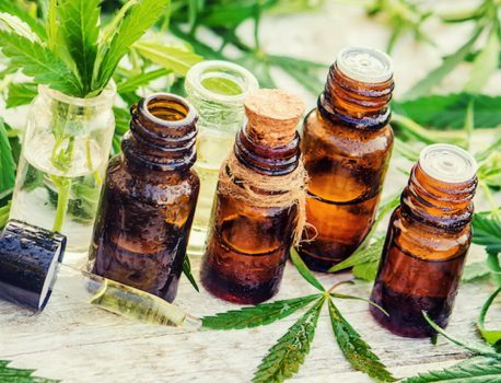 CBD oil in Cosmetics and Skin Care products
